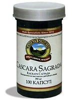 Каскара Саграда (Cascara Sagrada, кора жостера, жостер пурша) NSP