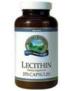 Лецитин капсулы соевый (Lecithin) NSP печень нервная система