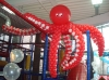 осьминог из воздушных шариков