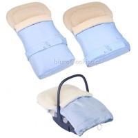Спальный мешок-конверт для детей на овчине № 20(standart)