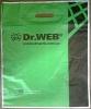 Dr.WEB полиэтиленовый  пакет с прорубной укрепленной ручкой