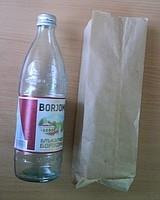 Для бутылки - пакет бумажный 50 г/кв. м medium