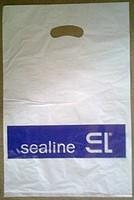 sealine полиэтиленовый  пакет  ручкой БАНАН medium