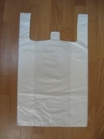 Пакеты белые полиэтиленовые Майка medium