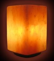 Соляная лампа SCCE-34 в форме Куба на деревяной подставке