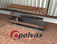 Конвектор внутрипольный POLVAX серии КЕ
