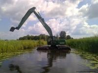 Экскаваторы-амфибии WATERKING BV (Голландия) от ООО с ИИ Юромаш
