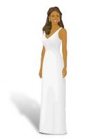 Прямое платье (колонна)