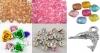 Бусины акриловые, металлические, разделительные, кулоны в ассортименте