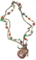 Ожерелье с кулоном из яшмы