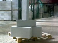 Блоки из ячеистого бетона автоклавного твердения.