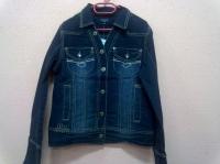 куртка джинсовая р.130