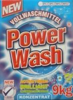 Стиральный порошок концентрат Power Wash brilliant  9кг