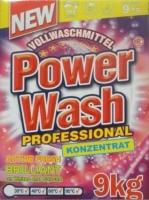 Стиральный порошок концентрат Power Wash professional  9кг