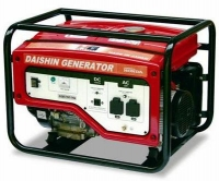 Бензиновые генераторы Daishin, электростанция Daishin (Япония)