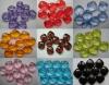 Бусины прозрачные квадратные, ограненные, цвета в ассортименте, размер 16*16*7мм, 10шт/уп