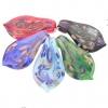 Кулоны из муранского стекла ручной работы, в ассортименте цветов, 46х26мм