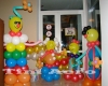 Украшение детского праздника воздушными шарами