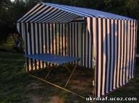 Палатка торговая. Отличный каркас. Хороший тент.