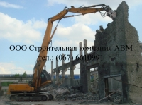 Демонтаж кирпичных зданий medium