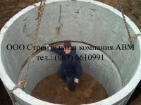 Канализация из бетонных колец medium