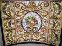 Эксклюзивные витражные потолки в технике Тиффани