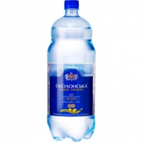 Вода Оболонская минеральная газированная 1л