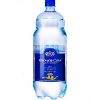Вода Оболонская минеральная газированная 2л