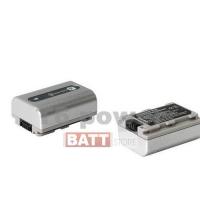 Аккумуляторная батарея для видеокамер Sony: NP-FP30;NP-FP50; Li-ion, 700 mAh, 7,2 V, серебряный