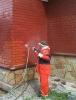 Мытьё фасадной части здания (не выше 2 метров)