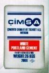Белый цемент CIMSA 25 кг