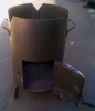 Печка буржуйка для казанов d 380мм