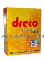 Немецкий Без фосфатов стиральный порошок DRECO 3кг для цветного белья