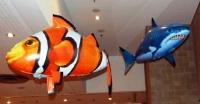 Летающая рыба Air Swimmers на радиоуправлении,