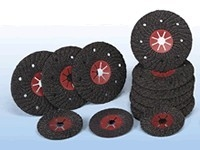 Шлифовальные полужесткие диски на фибровой основе (D 115)