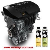 ROIL PLATINUM METAL ENGINE FLUSH - ПРОМЫВКА ДВИГАТЕЛЯ - 375 мл
