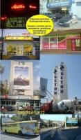 Размещение рекламы в Крыму на щитах ситилайтах брендмауэрах