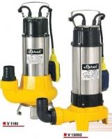 Дренажно-фекальный насос Sprut v1100, 1,1 кВт.