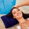 Подушка надувная синяя 68672
