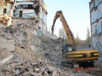 Демонтаж в Киеве. Снос зданий.