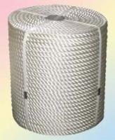 Канат полиамидный капроновый тросовой свивки д.30
