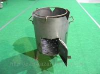 Печка для казана диаметр 350 мм,толщина стенки 2 мм.