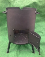 Печка для казана диаметр 400 мм,толщина стенки 2 мм.