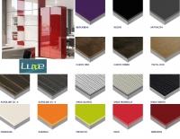 Глянцевые мдф плиты LUXE (Цветовая гамма )